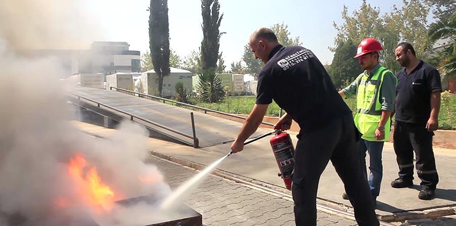başak osgb yangın eğitimi